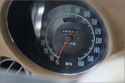 C3 1969-1971 speedometer