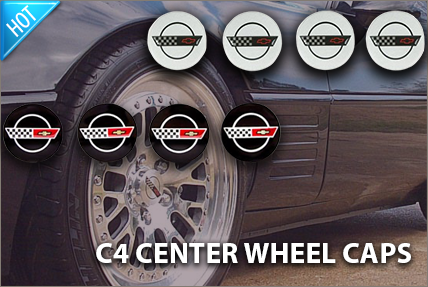 C4 Wheel Center Cap Sets