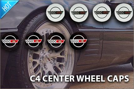 C4 Wheel Center Cap Sets
