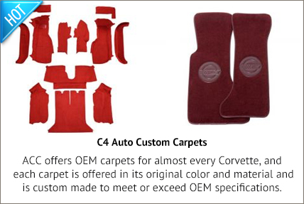 C4 Auto Custom Carpet