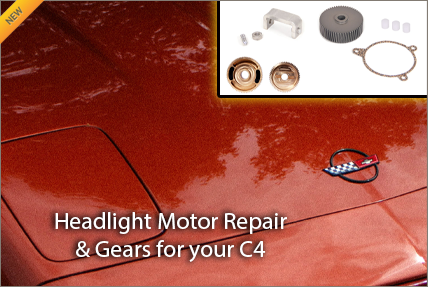 C4 Headlight Motor Repair Gears