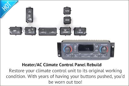 C5 Heater/AC Rebuild