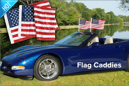 C5 Flag Caddies