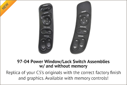 Power Window/Lock Switch Assemblies