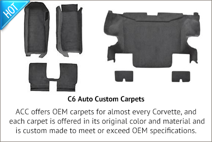 C6 Auto Custom Carpet Sets