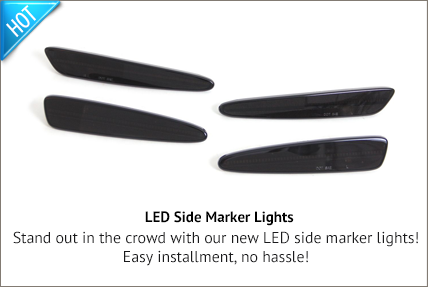 C6 LED Side Markers