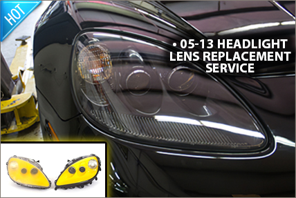 Headlight Lens Replacement Service
