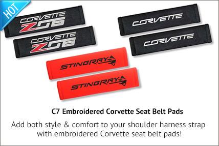 C7 Seat Belt Pads
