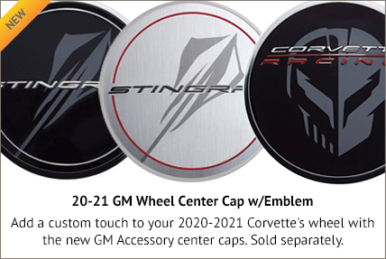 20-21 GM Wheel Center Caps