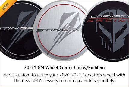 20-21 GM Wheel Center Caps