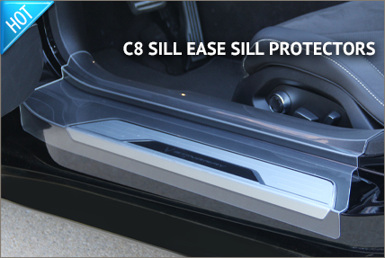 C8 Sill Ease Sill Protectors
