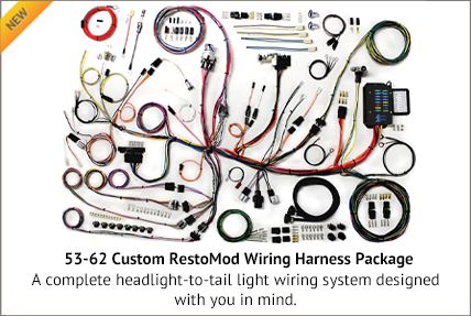 Custom RestoMod Wiring Harness Package for C1