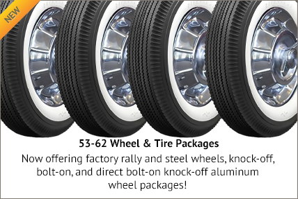 56-62 Wheel & Tire Package