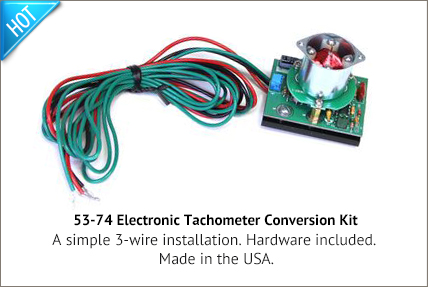 electric tachometer conversion kit